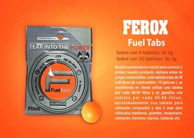 Ferox Fuel Tabs Sobre 4 10 EF