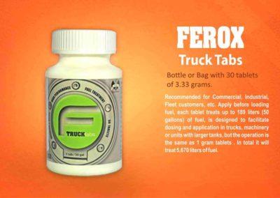 Ferox Fuel Tabs Truck EF en